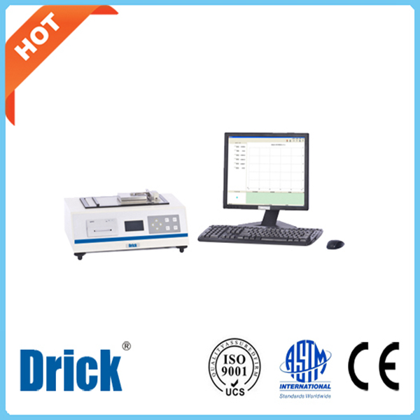 DRK138 inclinato coefficiente di attrito di superficie Tester