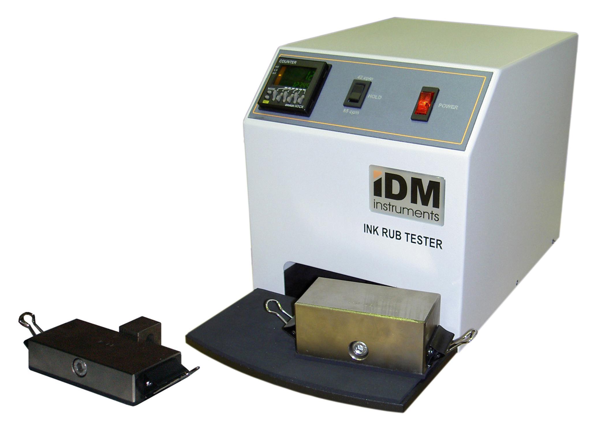 I0001 – Ink Rub Tester